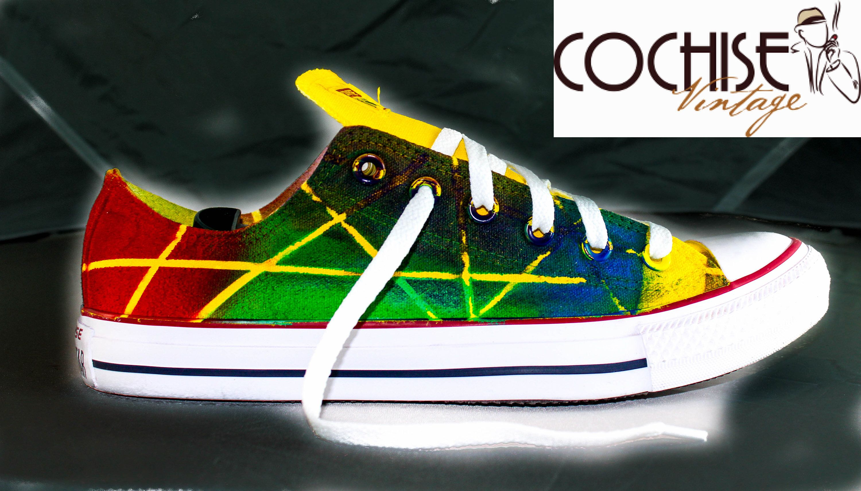 9ba155328601 Excited to share the latest addition to my  etsy shop  Abstract Lines  Custom AirBrush Converse Chuck Taylors All Stars Chuck Taylors