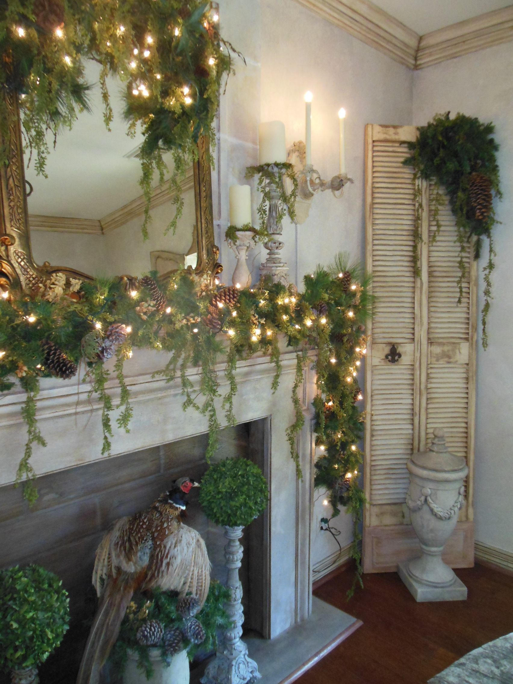 Our Dining Room....Christmas 2015