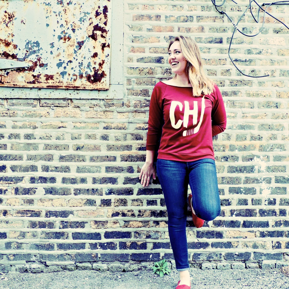 Chicago Hockey Scoopneck - Chitown Clothing