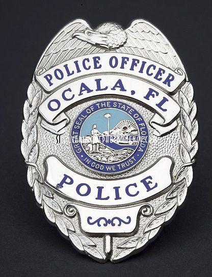 Ocala Pd Fl Police Badge Police Badge