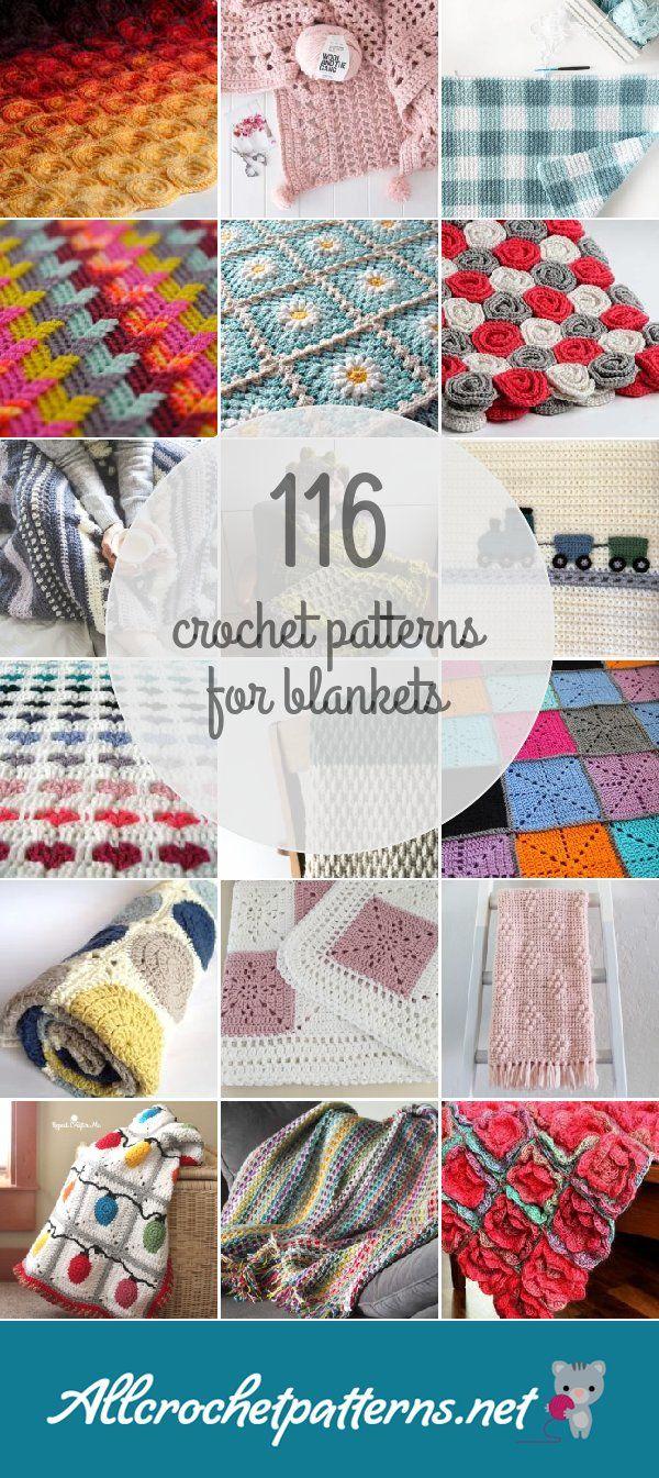 Crochet Patterns For Blankets | Yarn :) | Pinterest | Manta ...