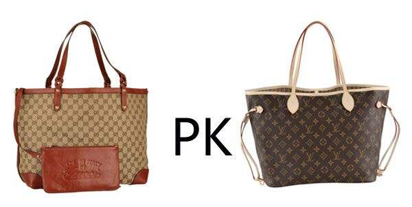7127fe5f674c Gucci vs Louis- Two high end designer bags that are competitors in the  industry made