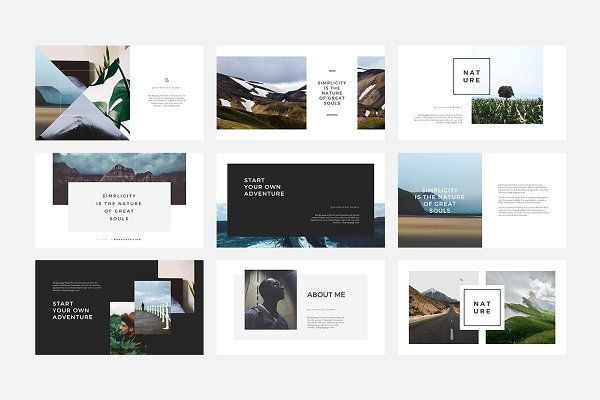 Ruang PowerPoint Template by Angkalimabelas on @creativemarket