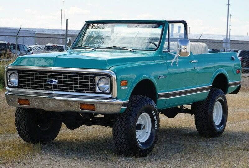 1972 Chevrolet Blazer K5 4x4 Convertible Suv 350 V8 For Sale In