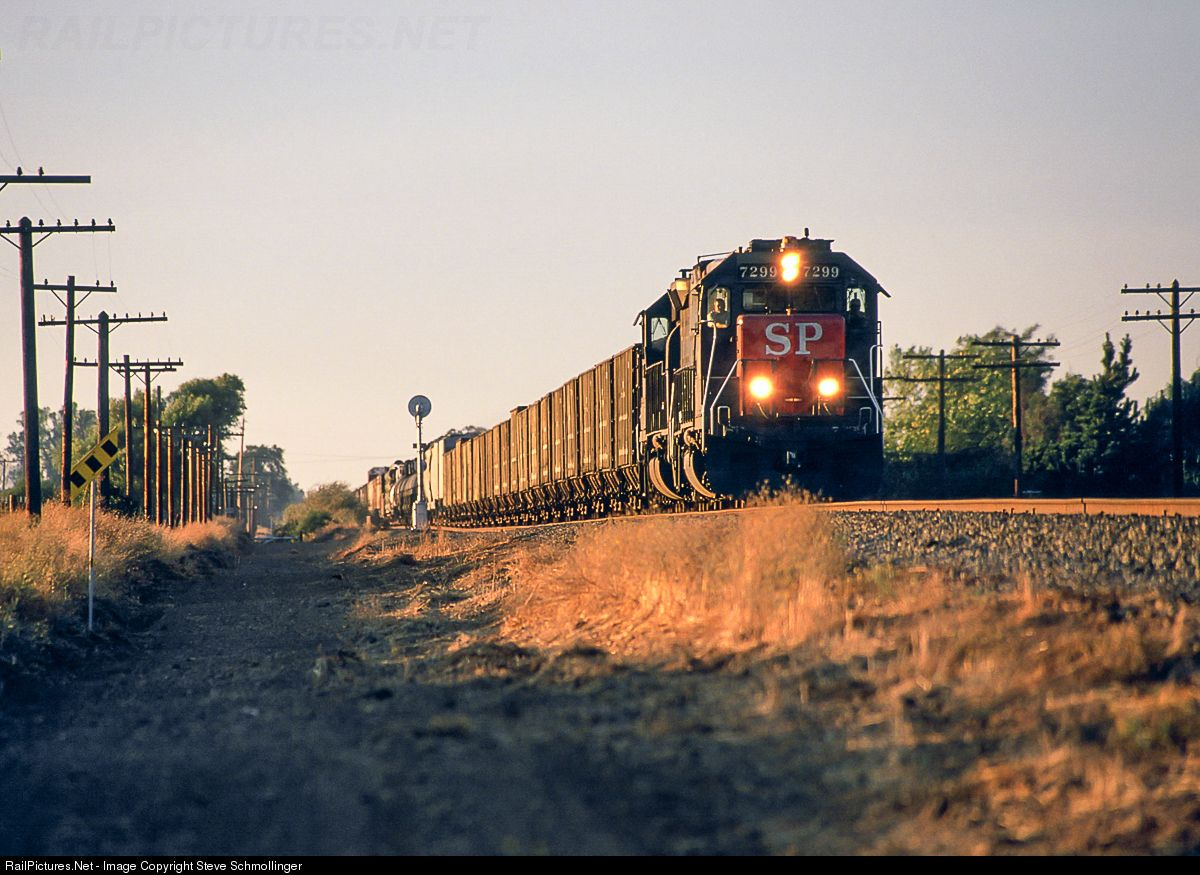 Photo SP 7299 Southern Pacific Railroad