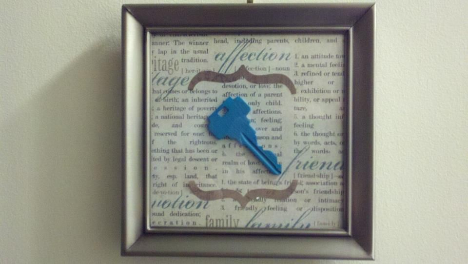 I got this idea from Pinterest and made it my own! :-) We just ...