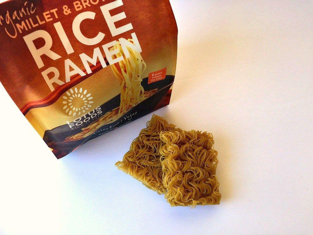 Glutenfree ramen noodles by lotus foods review gluten