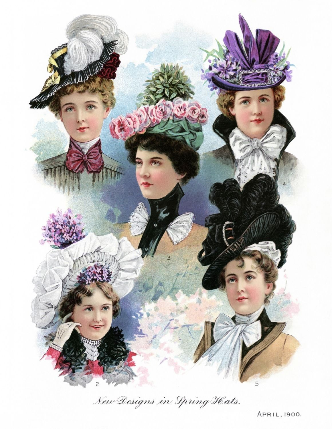 Fashion victorian hats images