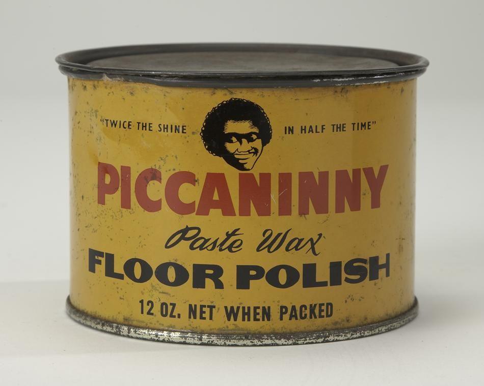 Tin Piccaninny Floor Polish Vintage African America