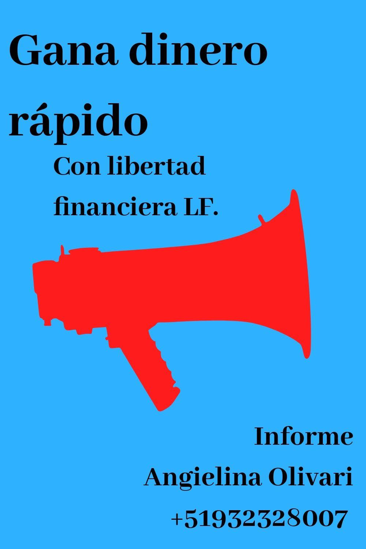 Gana Dinero Rápido Fácil Y Seguro Con Libertad Financiera Lf Letters Messages