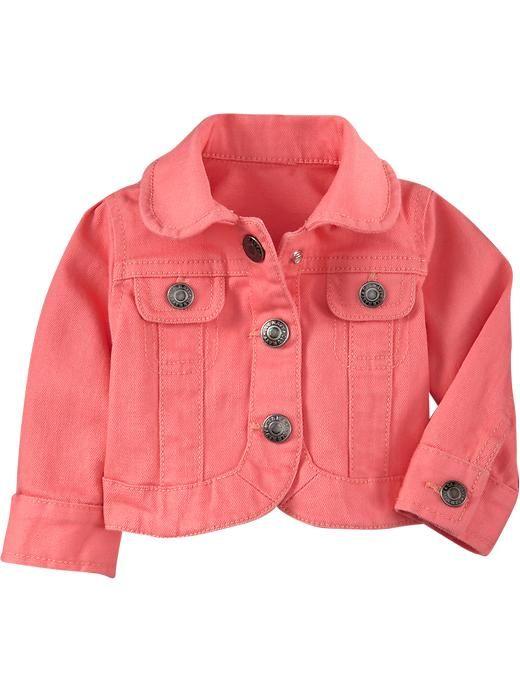 Image result for baby girl pink denim jacket | Babywear layette ...