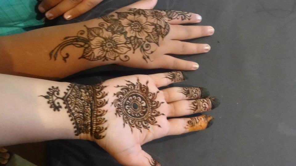 Henna Tattoo Kits Uk : Nice new beautifull henna mehndi design for kids hd designs