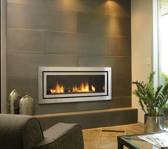 electric modern fire place Fire place (Biohogares) Pinterest