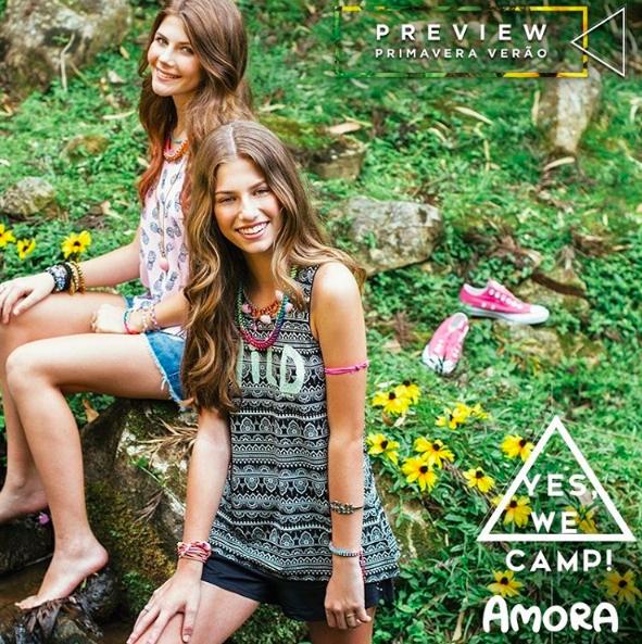 Amora coleção verão 2017 / Cena por Alexandra Difa