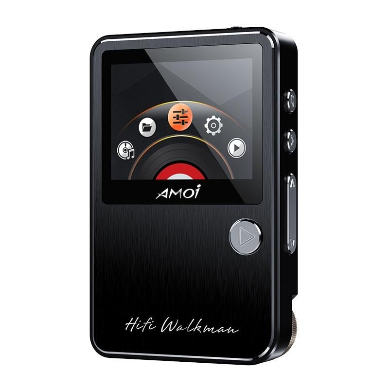 Portable Bluetooth MP3 Music Player with FM Hi-Fi Lossless Support up to 128GB