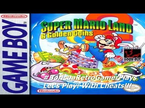 Let S Play Super Mario Land 2 6 Golden Coins With Cheats Super Mario Land Super Mario Gameboy
