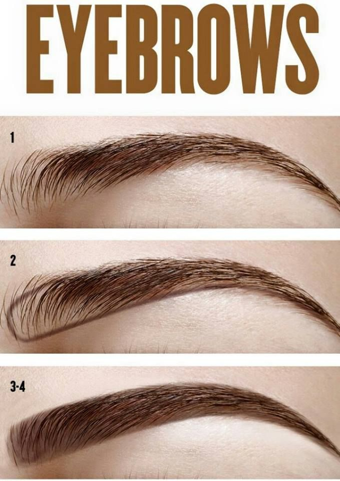 how to make your eyebrows more arched