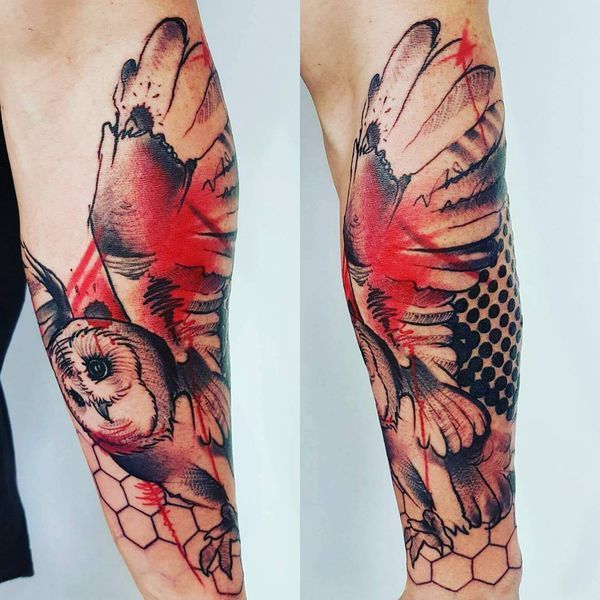 987afb082 40 Trash Polka Tattoo Ideas (2019) | tattoo | Trash polka tattoo ...