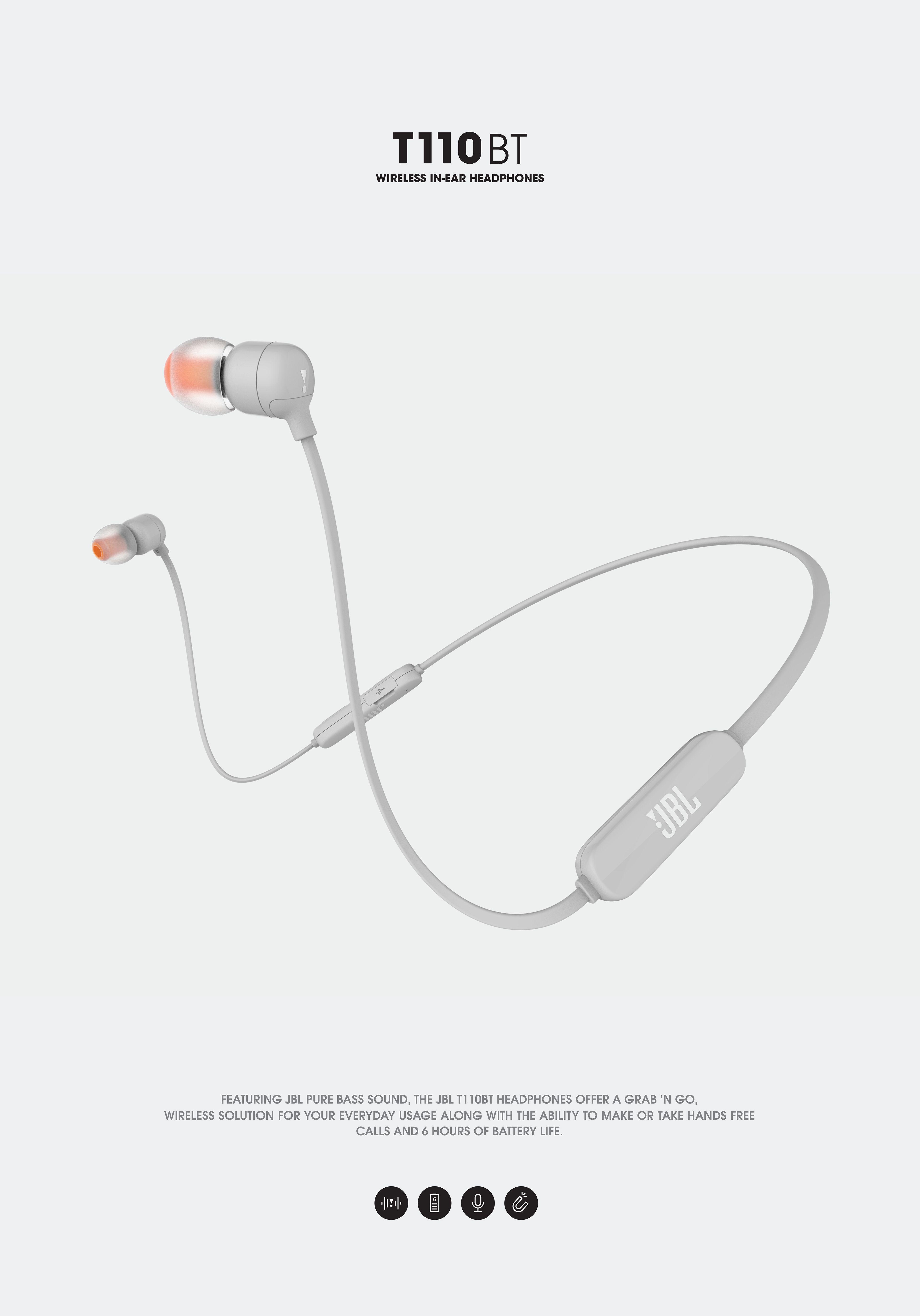 Jbl Bluetooth Headphones T110bt On Behance
