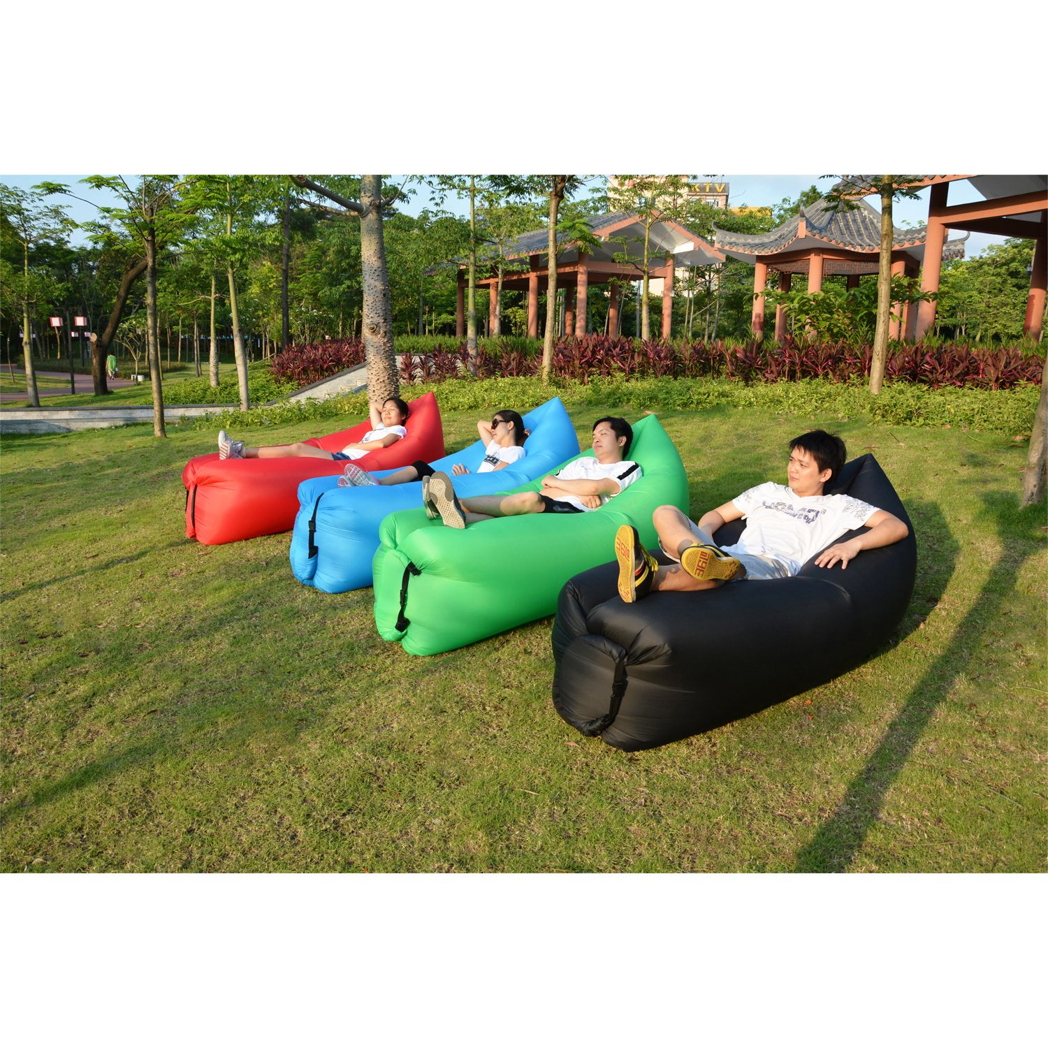 Air Bags Lazy Sofa Fast Inflatable Sofa Bed Lazy Lazybones Beach