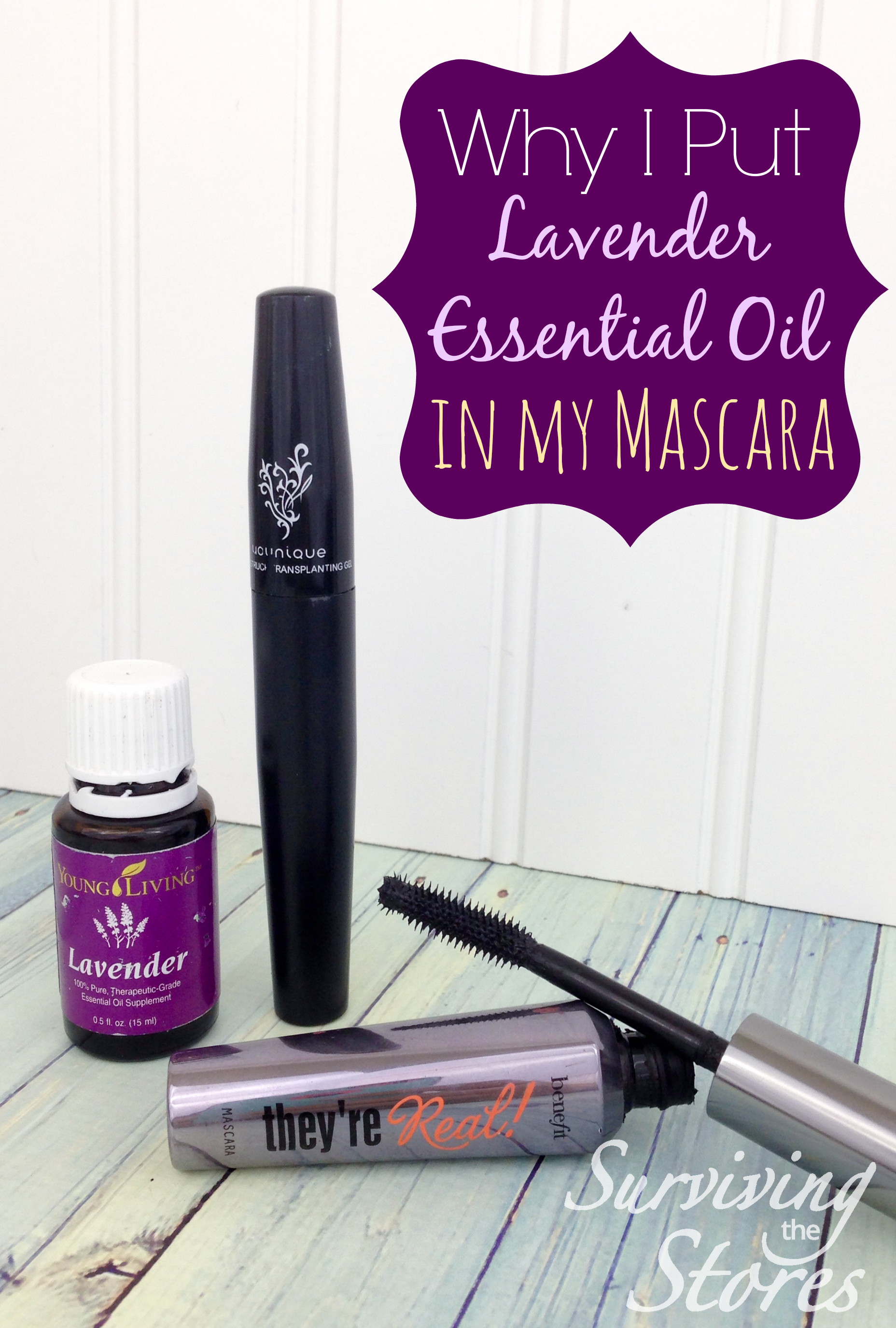 787d6abec01 How to use lavender essential oil in your mascara for longer and thicker  eyelashes! {Plus WHY it works!}