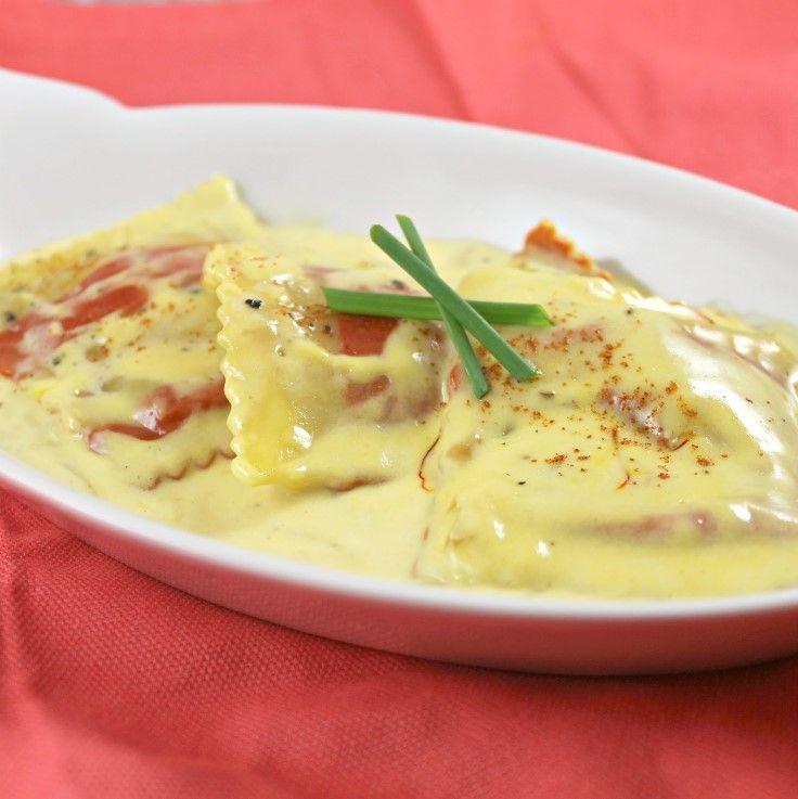 Top 10 exquisite lobster recipes bon apetit pinterest rezepte and kochrezepte for Olive garden lobster ravioli recipe