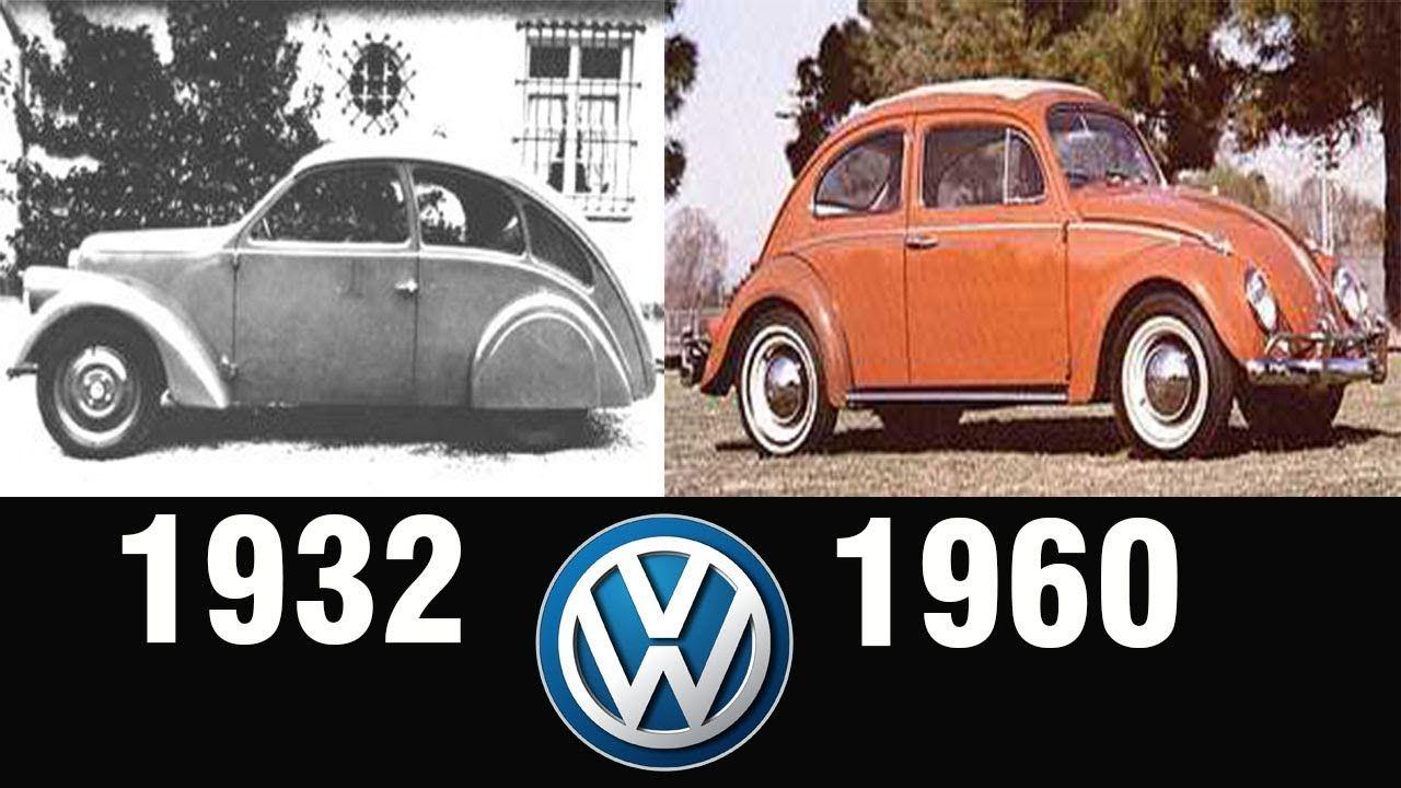 The Evolution Of Volkswagen Beetle 1932 1960 Volkswagen Beetle Volkswagen Beetle