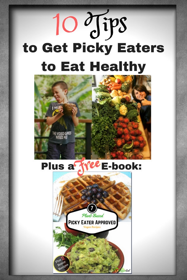 10 Tips To Get Picky Eaters To Eat Healthy The Veggie Gal
