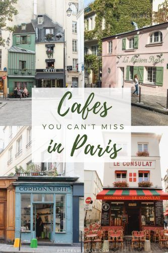 You can't miss these cafes in Paris, France