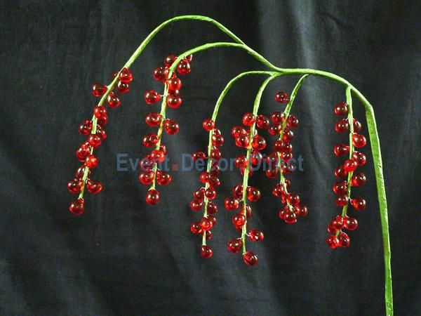 Beaded Bouquet - Red