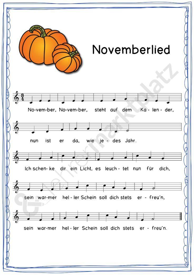 Lieder für das ganze Jahr – Unterrichtsmaterial in den Fächern Fachübergreifendes & Musik – Julia Spomer