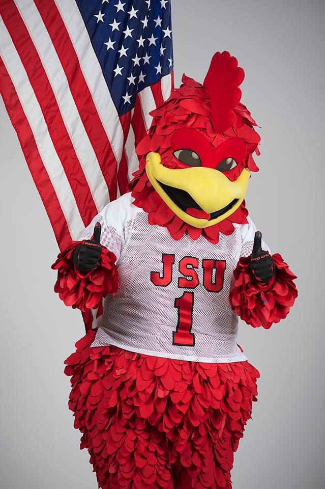 Cocky Is Ready To Celebrate Independence Day Here At Jacksonville State University How Are You Celebrating Your Four Go Gamecocks Jacksonville State Gamecocks