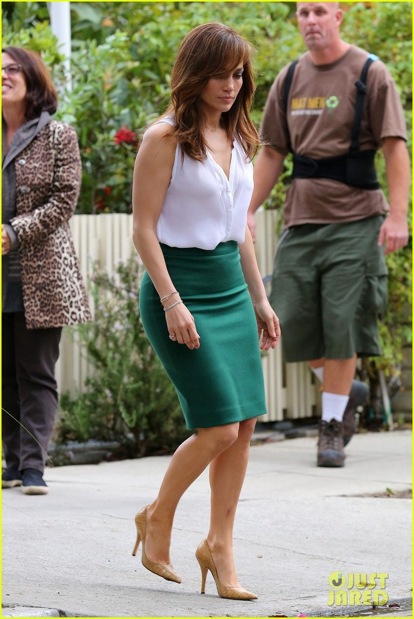 Jennifer Lopez: - Green and White