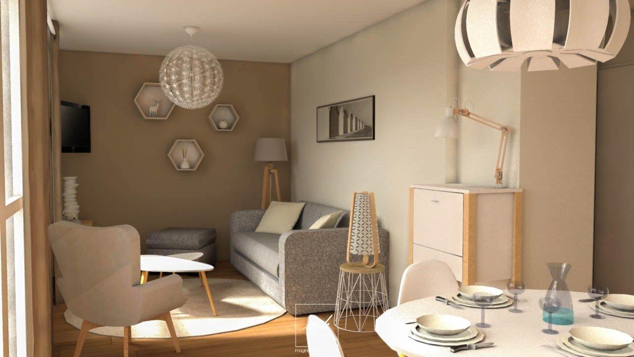 Decoration Scandinave D Un Salon Dans Un Appartement De Seine Saint Denis Home Decor Home Home Decor Decals