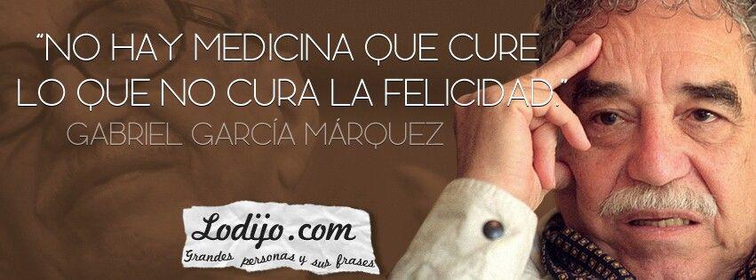 Frase de García Márquez