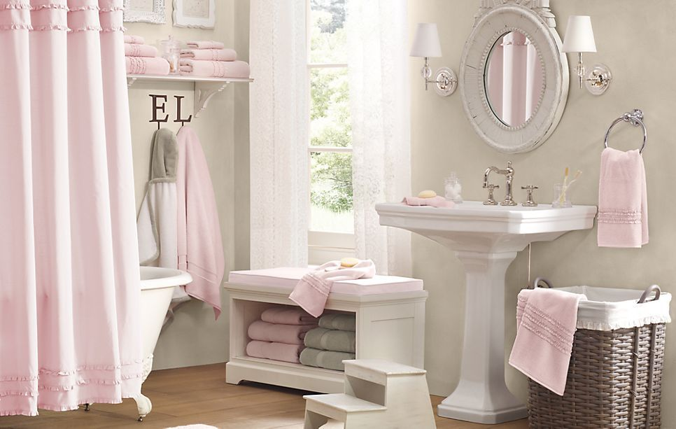Little Girl Bathroom Decor.This Is Way Too Nice For A Kid S Bathroom It Wouldn T Look