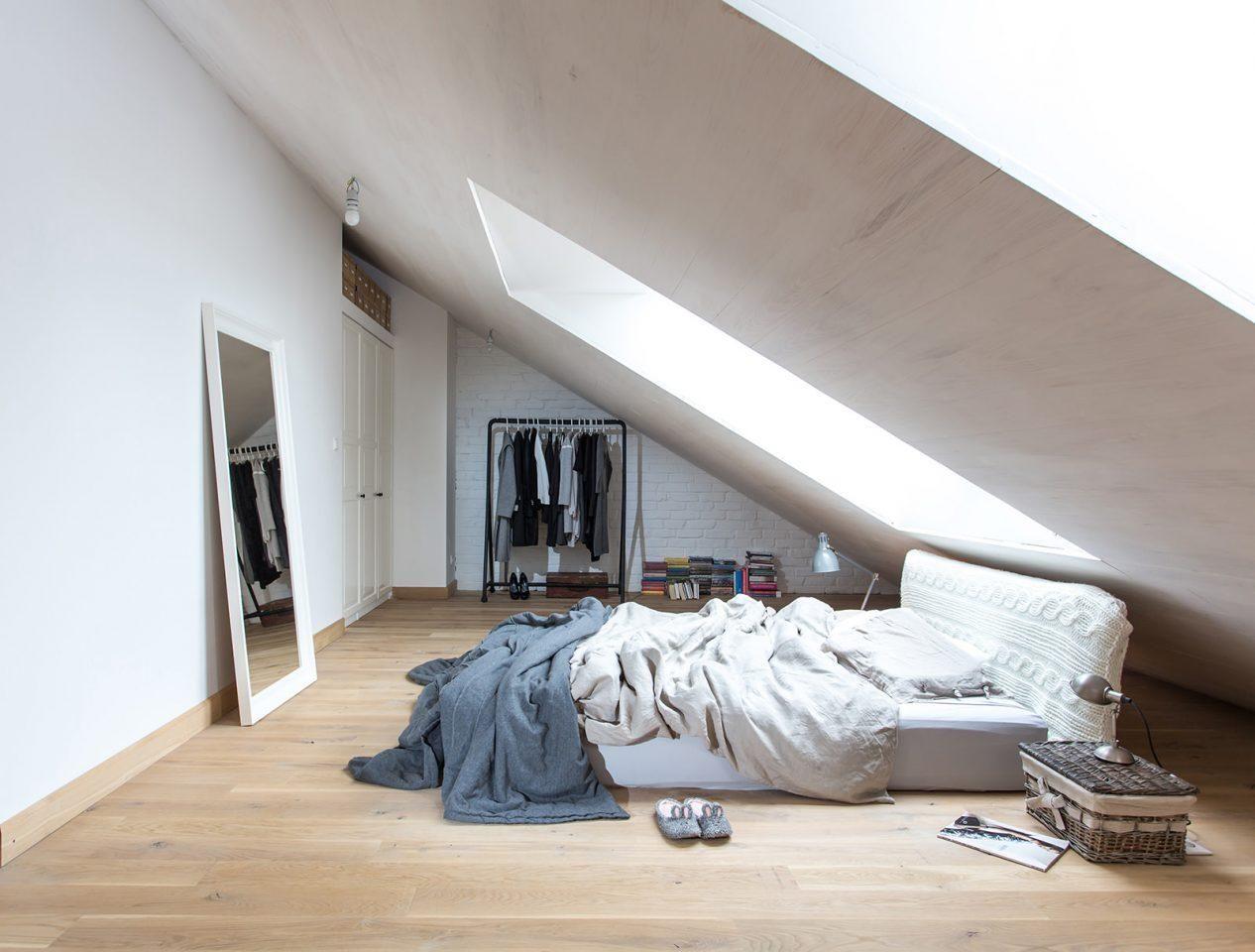 Come trasformare un sottotetto in una camera da letto mansarda pinterest pent house - Camera da letto in mansarda ...
