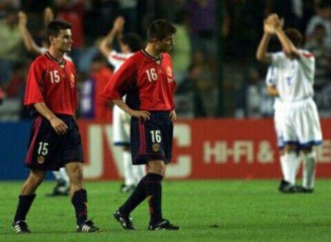 Resultado de imagen para paraguay vs españa 1998