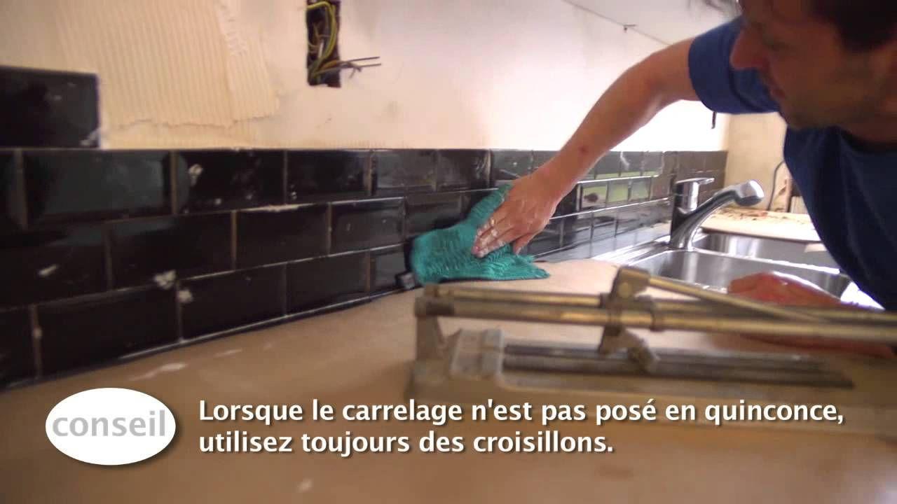 Carreler un dosseret de cuisine - Vidéo bricolage  GAMMA
