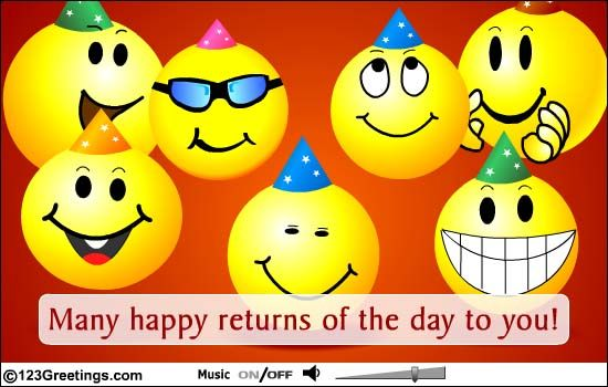 Have A Happy Birthday Free Happy Birthday eCards Greeting Cards – Happy Birthday E Greetings