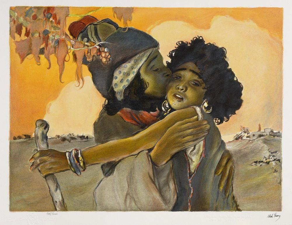 Jacob and Rachel by Abel Pann