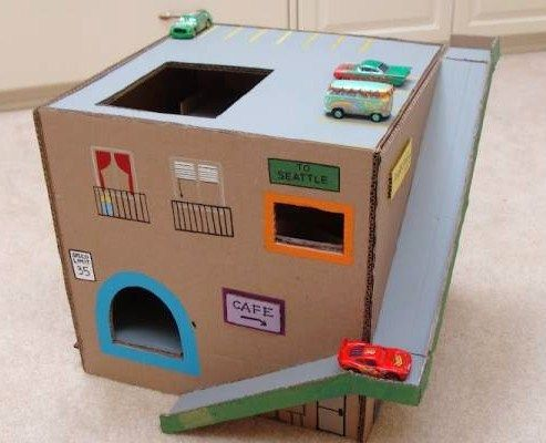 Fabulous 2 idées récup de jeux enfants à faire soi même | Jouets DIY  FP09