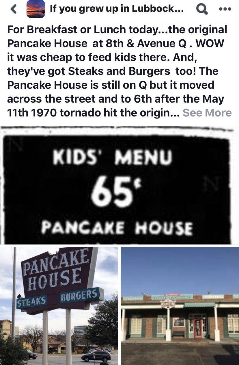 The Pancake House, Original