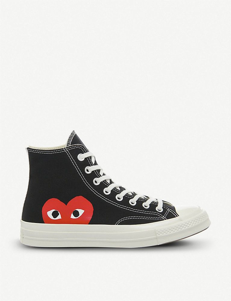 COMME DES GARCONS Converse high top 70s x play cdg trainers