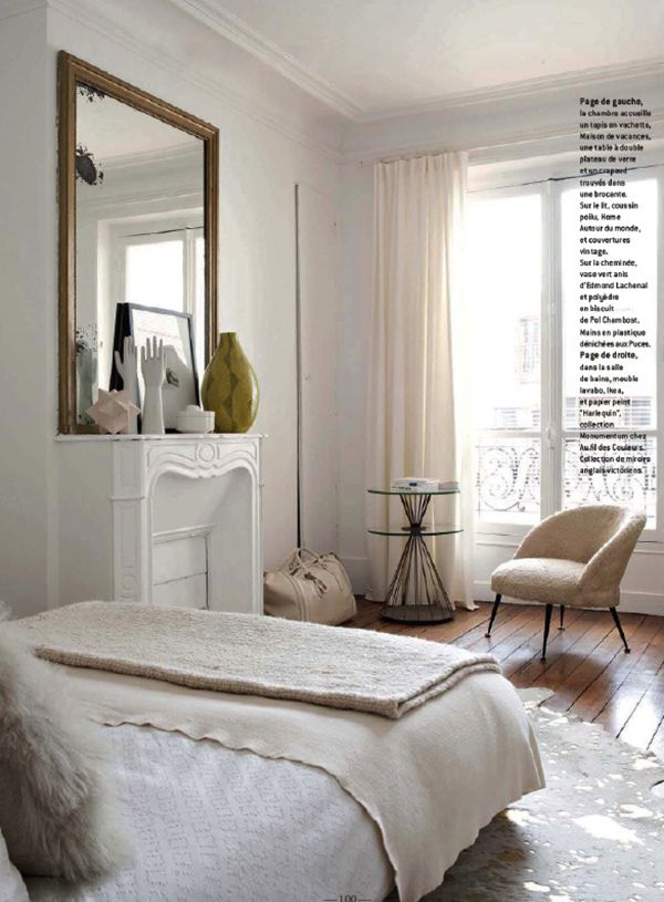 Use Sculptural Items On Dressing Areas   Émilie Bonaventure Bedroom