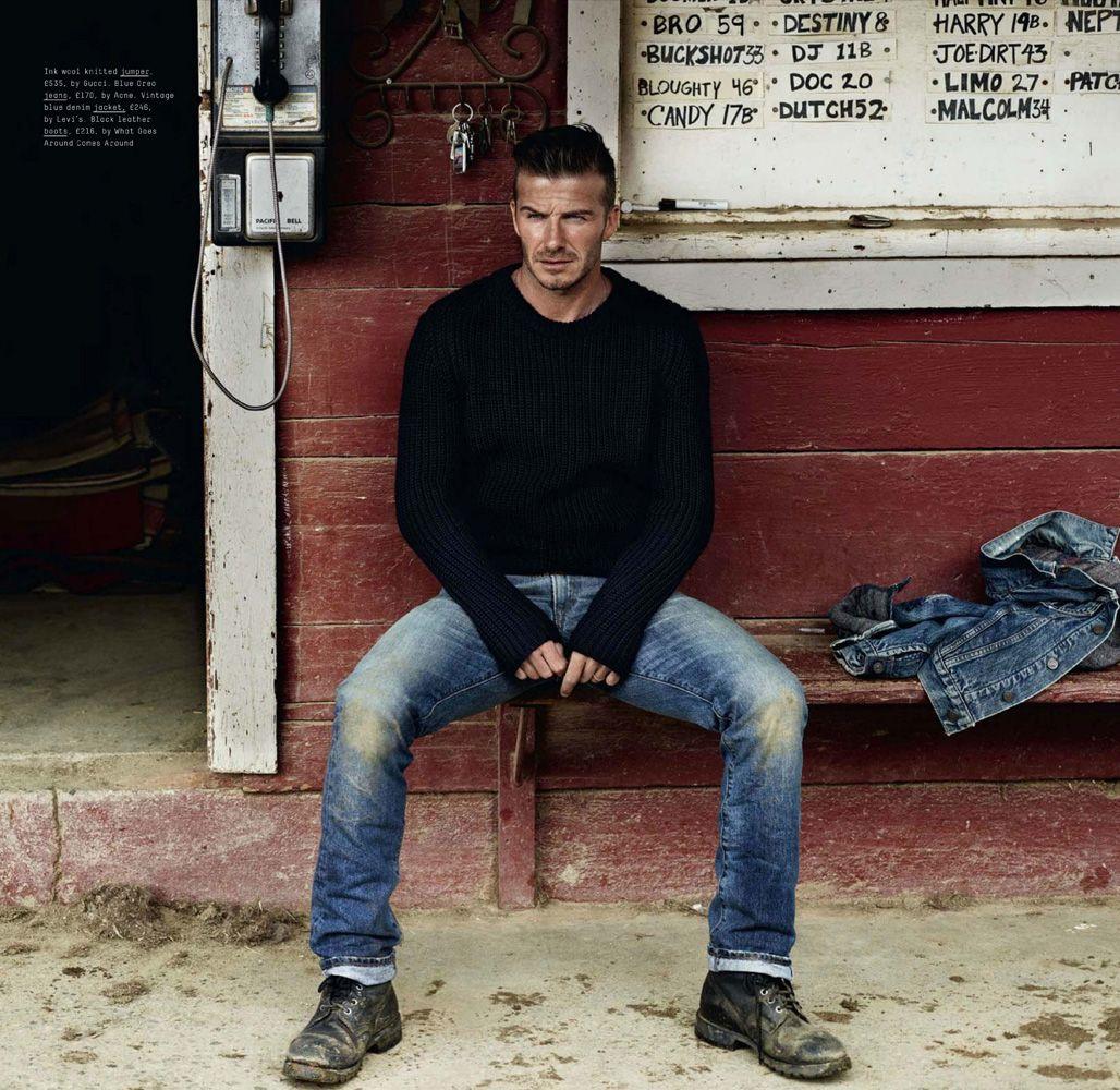 David Beckham / esquire UK sept. 12 ph: josh olins