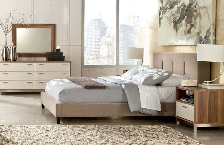 High Quality Modern, Light Bedroom Furniture Candiac By Design Series
