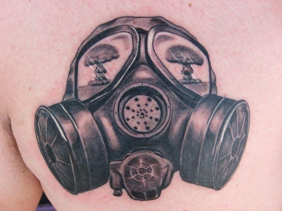 Gas Mask_007 by Terror4u