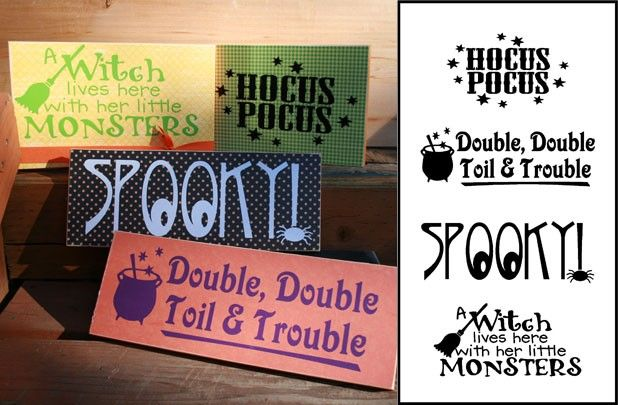 halloween kicks of the holiday season and with simple sayings vinyl halloween signs sayings