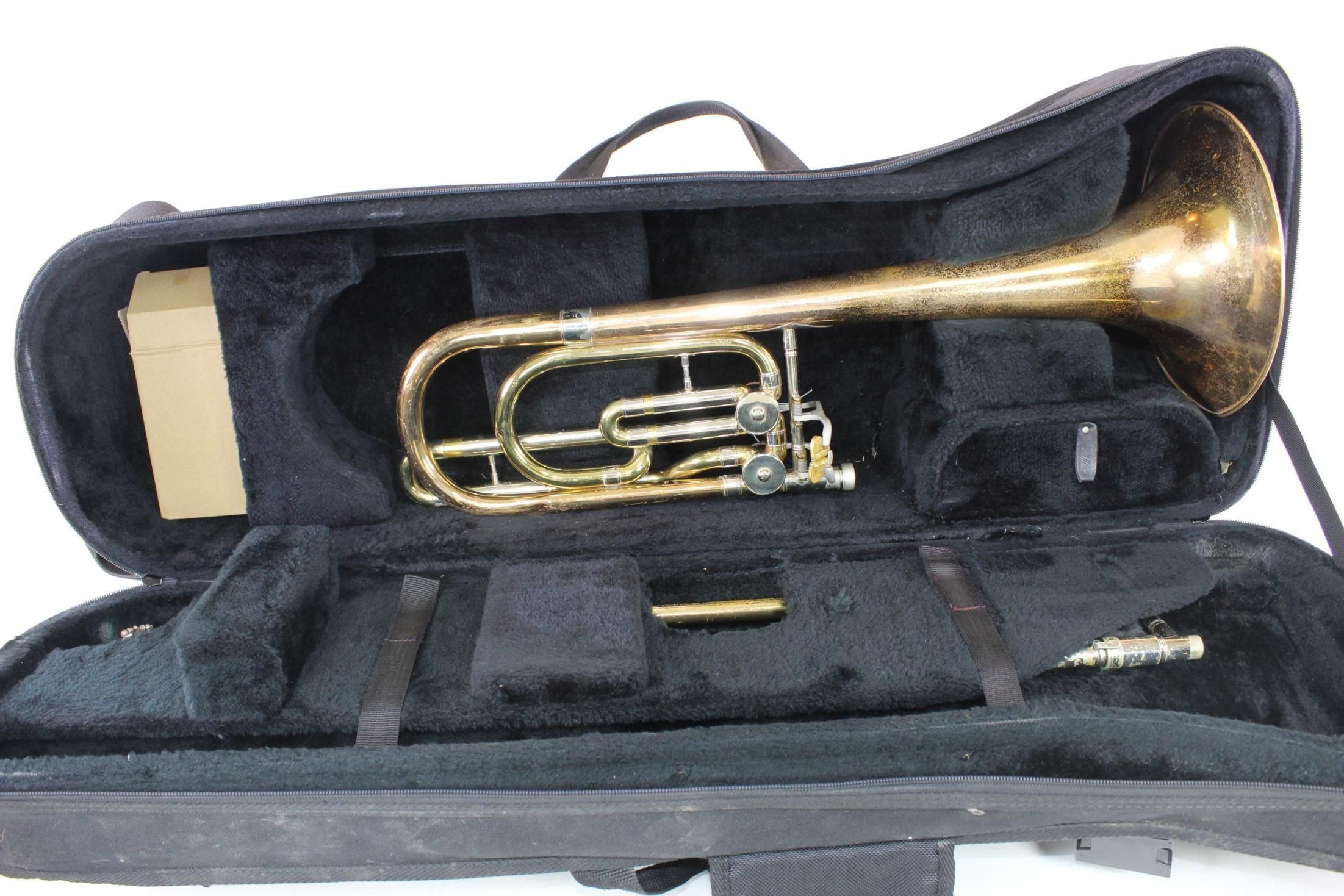 Elkhart Conn 62H Bass Trombone TUNING IN THE SLIDE